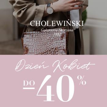 Dzień Kobiet w salonach Cholewiński!
