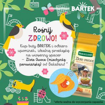 Rośnij zdrowo z BARTEK i Bakalland !