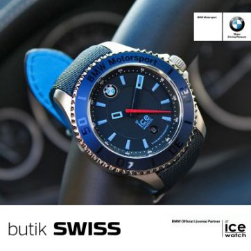 Zegarki BMW Motorsport od Ice-Watch w butiku SWISS