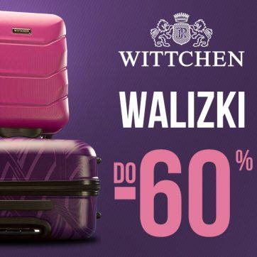 Bagaż do -60% w WITTCHEN !
