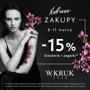 Kobiece Zakupy z W.KRUK!