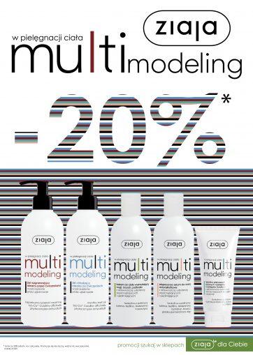 Multimodeling -20% w Ziaja
