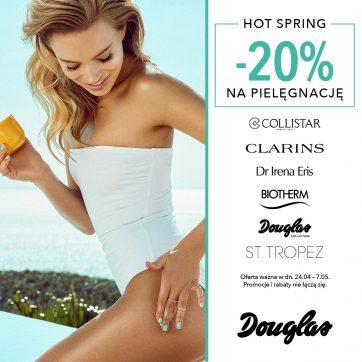 -20% na pielegnację w Douglas