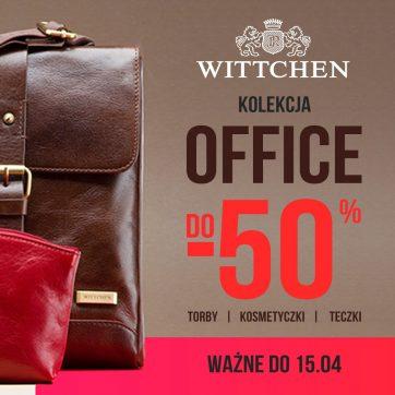 Kolekcja Office do -50% tylko w Wittchen!