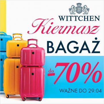 Kiermasz bagażu w Wittchen