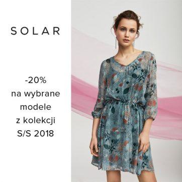 Promocja w sklepie Solar