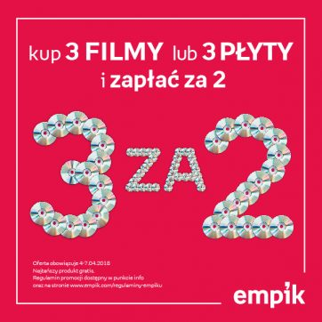 Empik – promocja na film i muzykę