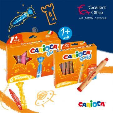 Artykuły plastyczne Carioca -15% w Excellent Office