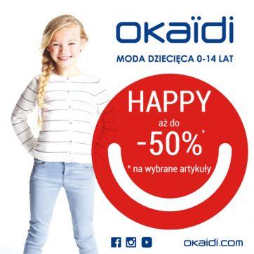 Promocja HAPPY w Okaïdi!