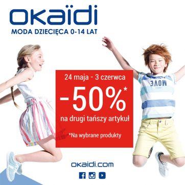 Promocja w Okaidi!