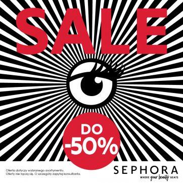 Wyprzedaże w Sephora nawet do -50%