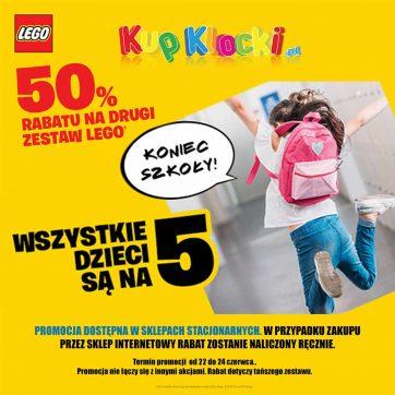 Wszystkie dzieci są na 5 w Kupklocki.pl