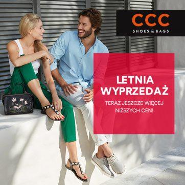 Letnia wyprzedaż w CCC – jeszcze więcej niższych cen!