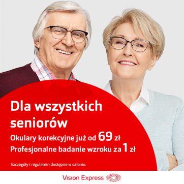 Dni Seniora w Vision Express!