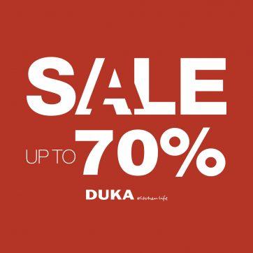 Sale Up do -70% w DUKA
