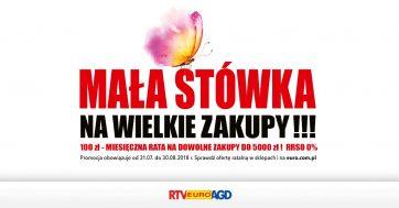 RTV EURO AGD – MAŁA STÓWKA NA WIELKIE ZAKUPY