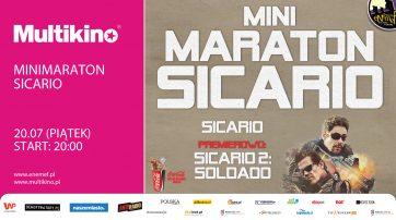 ENEMEF: Minimaraton Sicario z premierą Soldado 20 lipca w Multikinie