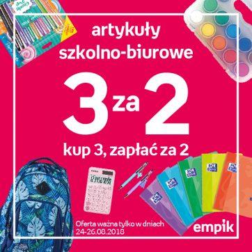 Empik – kup 3, zapłać za 2!