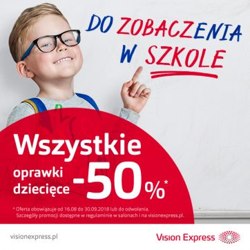 Back to school Vision Express