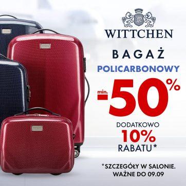 Bagaż PC za połowę ceny w Wittchen