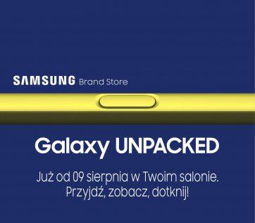 Przyjdź, zobacz, dotknij w Samsung Brand Store