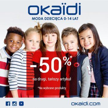 BACK TO SCHOOL w Okaïdi