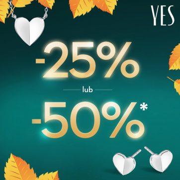 Jesienna promocja w Salonach YES!