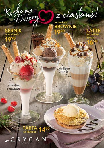 Jesienna oferta lodziarnio-kawiarni GRYCAN
