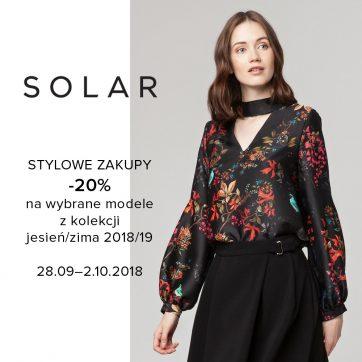 Promocja w salonie Solar