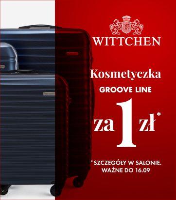 Kosmetyczka bagażowa za 1 zł w Witchen