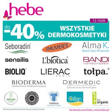 Oferta promocyjna w Hebe