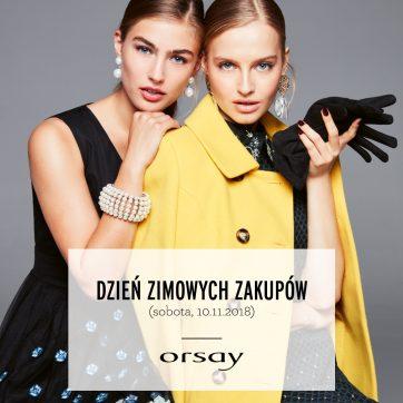 Dzień zimowych zakupów z Orsay