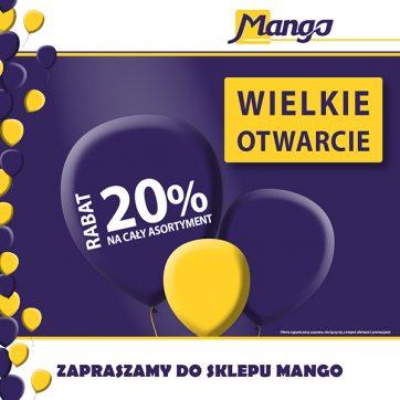 Wielkie otwarcie sklepu Mango