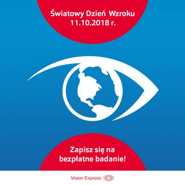 Światowy dzień wzroku – Vision Express