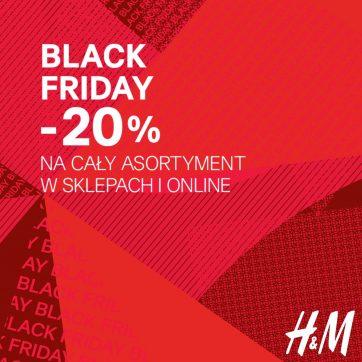 Już jest! Czas na Black Friday w sklepach H&M