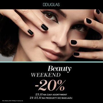 Świętuj z nami Beauty Weekend w perfumeriach DOUGLAS!