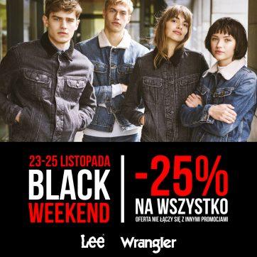 Black Weekend w Lee Wrangler