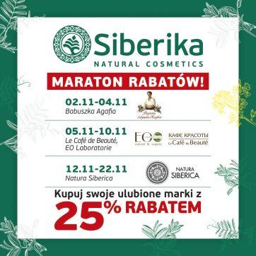 Maraton rabatów w sklepach Siberika