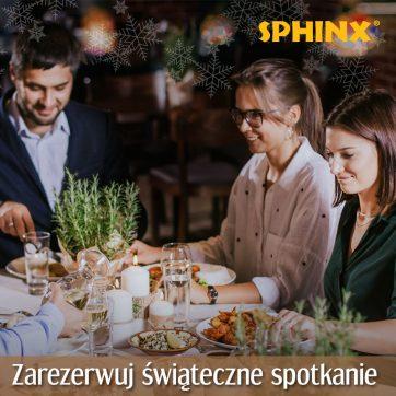 Świąteczne spotkania w restauracjach Sphinx