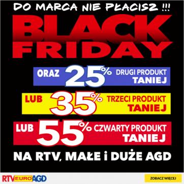 BLACK FRIDAY w RTV EURO AGD