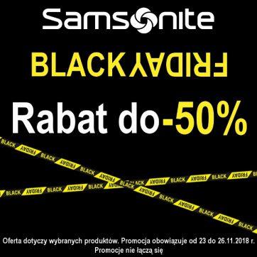 Black Friday w House of Samsonite.