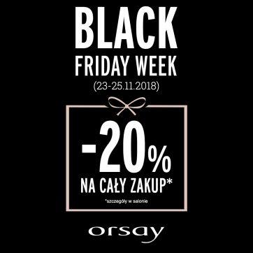 BLACK WEEKEND w ORSAY