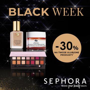 Black Week w Sephora! -30% na wybrane produkty !