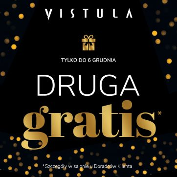 Mikołajkowe prezenty w salonie Vistula! Druga sztuka GRATIS*