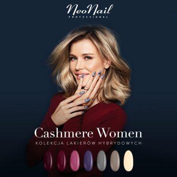 Nowa kolekcja lakierów hybrydowych Cashmere Women w NeoNail