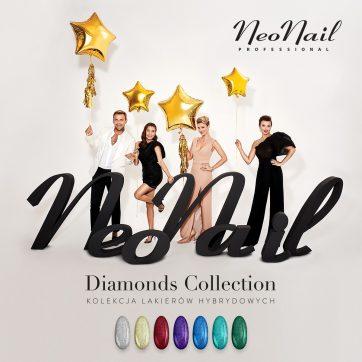 Kolekcji lakierów hybrydowych Diamonds Collection w NeoNail