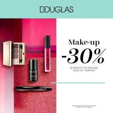 Makijażowy Zawrót Głowy tylko w perfumeriach DOUGLAS!
