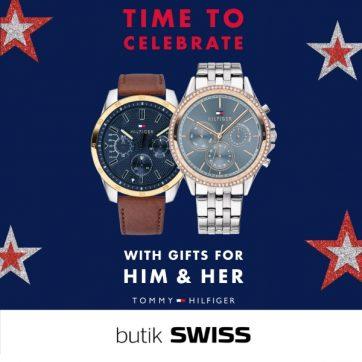 Zegarki Tommy Hilfiger w butiku SWISS