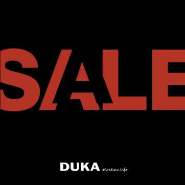 DUKA SALE do -50%!