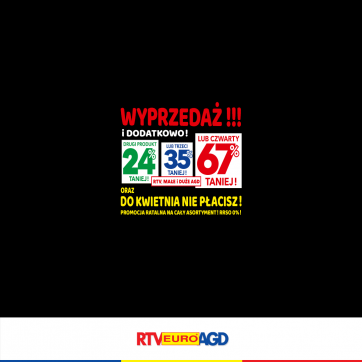 Promocja w RTV Euro AGD